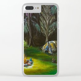 Just Camping Clear iPhone Case