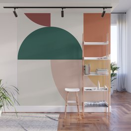 Abstract Geometric 12 Wall Mural