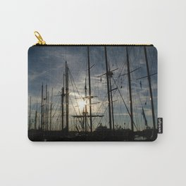 sailboat on the sunrise Carry-All Pouch