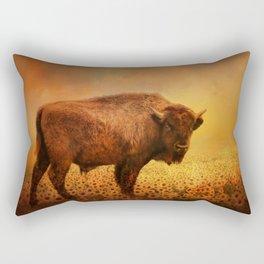 Buffalo Dreams Rectangular Pillow