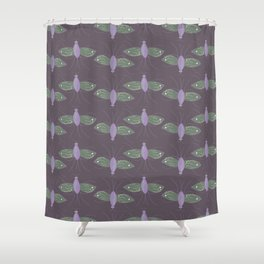 Meadow fly Shower Curtain