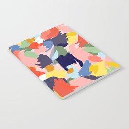 Bright Paint Blobs Notebook