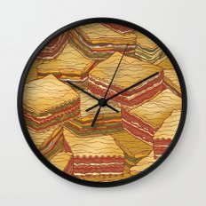 Lasagne Wall Clock