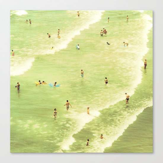 Let's Go Swimming Canvas Print
