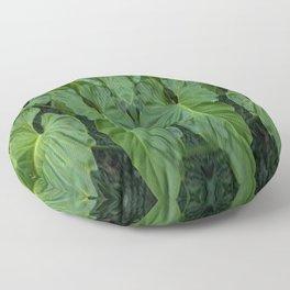 Leafy Floor Pillow