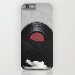 Let's go living in the past iPhone Case