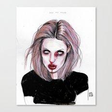 Angelina J Canvas Print