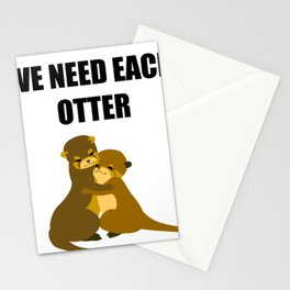 We need each otter Stationery Cards