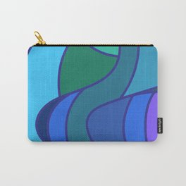 Jay Bird Pattern Design Abstract Carry-All Pouch