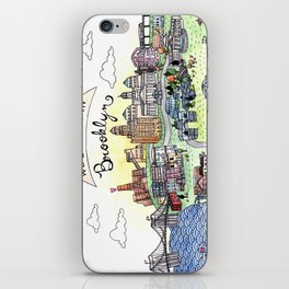 We Belong in Brooklyn iPhone Skin