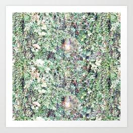 SEATTLE'S GREEN BEARD Art Print