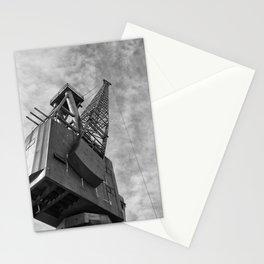 Ship Yard Crane Stationery Cards