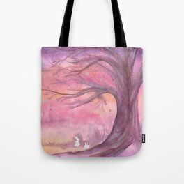 Early Spring Hour Tote Bag