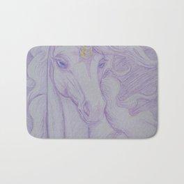 Unicorn Oracle 1: Lavender Bath Mat