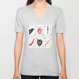 Six Of Crows - Red Unisex V-Neck