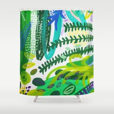 Between the branches. IV Shower Curtain