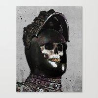 medieval Canvas Prints featuring Medieval Knight by Ed Pires