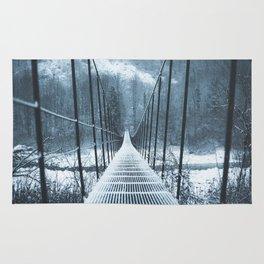 IRON BRIDGE white Rug