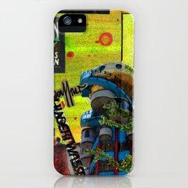 Hundertwasser iPhone Case