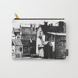ARCHITECTURE PEN & INK DRAWING Carry-All Pouch
