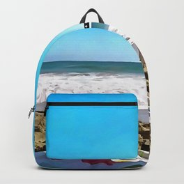 Paint On The Beach Backpack