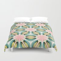 the thing Duvet Covers featuring That Thing by Truly Juel