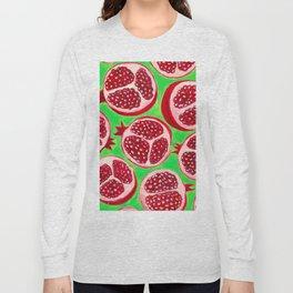 Pomegranate pattern design Long Sleeve T-shirt