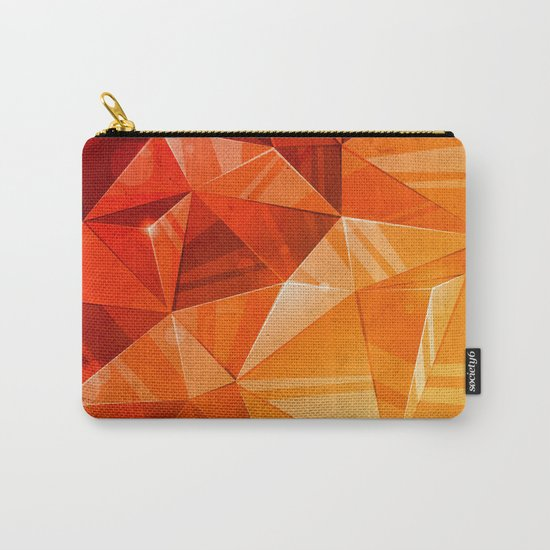 Tricolor Carry-All Pouch