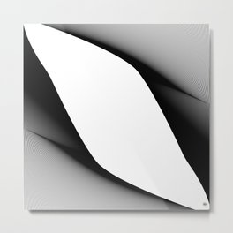 LinesV/ Metal Print