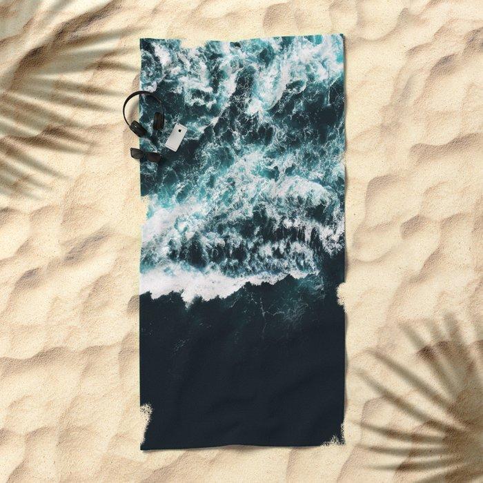 Oceanholic #society6 #decor #buyart Beach Towel