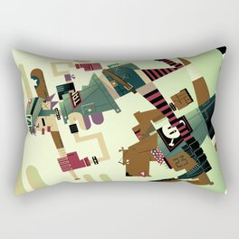 Tank Girl Rectangular Pillow