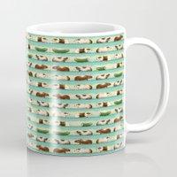 guinea pig Mugs featuring Guinea Pig Congo by Patmai