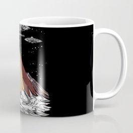 Antarctica Alien Egyptian Pyramids UFO Conspiracy Coffee Mug