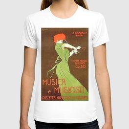 Vintage poster - Musica e Musicisti T-shirt