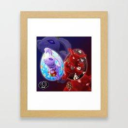 Easter - Angelic VS Evil Framed Art Print