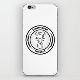 Thrift Shop Threads Button_Kudu iPhone Skin