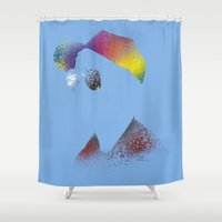 calvin Shower Curtains featuring Calvin? by Arian Noveir
