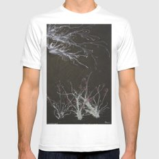 Winter ends Mens Fitted Tee SMALL White