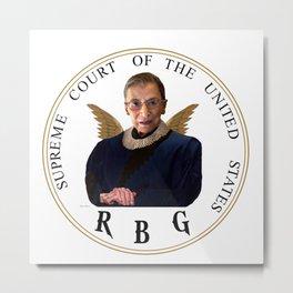 Ruth Bader Ginsburg - RBG Metal Print