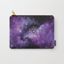 Sacred Space Geometry Carry-All Pouch