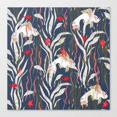 Seaweed Swim Canvas Print