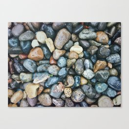 Sea Pebbles Canvas Print