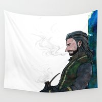 thorin Wall Tapestries featuring Thorin by NON6
