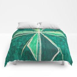 Green Cross Comforters