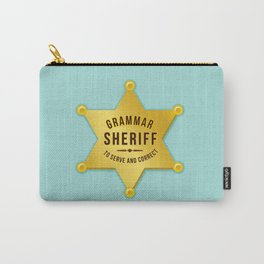Grammar Sheriff Carry-All Pouch