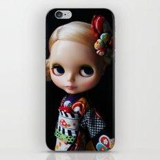 GEISHA BLYTHE DOLL KENNER iPhone & iPod Skin