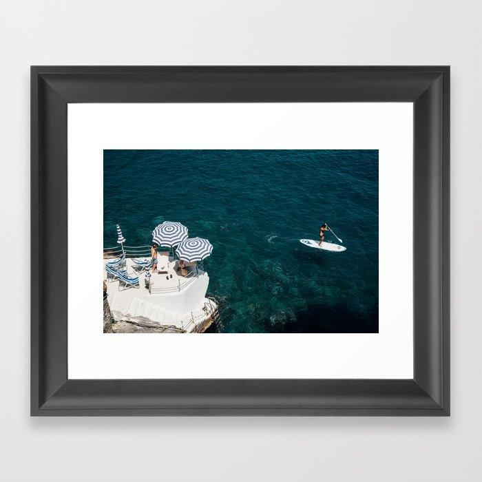 Amalfi Coast 7 Gerahmter Kunstdruck