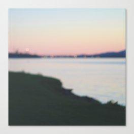 in the horizon Canvas Print