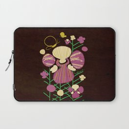 Floral Flower Artprint Laptop Sleeve