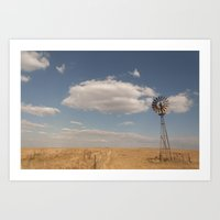 country Art Prints featuring Country by Lorryn Smit